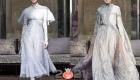 Полупрозрачное платье на 2021 год