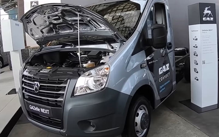 Новые автомобили ГАЗ выпуска 2020-2021 года
