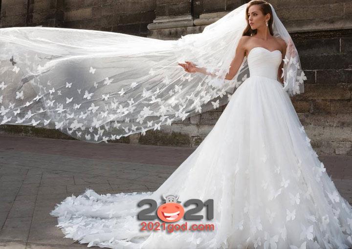 Свадебные платья в 2020 и 2021 году