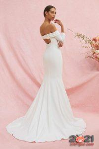 Свадебное платье Carolina Herrera осень-зима 2020-2021