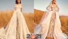 Многослойное свадебное платье от Zuhair Murad осень-зима 2020-2021