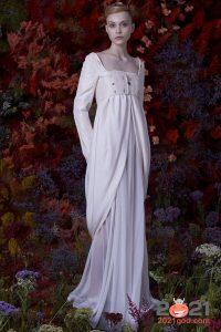 необычное свадебное платье осень-зима 2020-2021