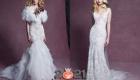 Пышные свадебные платья коллекция Marchesa осень-зима 2020-2021