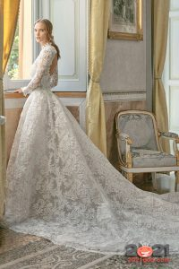 Свадебное платье со шлейфом на 2020-2021 год