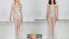 Прозрачные свадебные платья цвета металлик сезона осень-зима 2020-2021