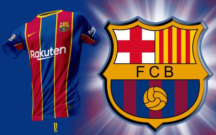 Основная (домашняя) форма ФК Барселона на 2020-2021 год