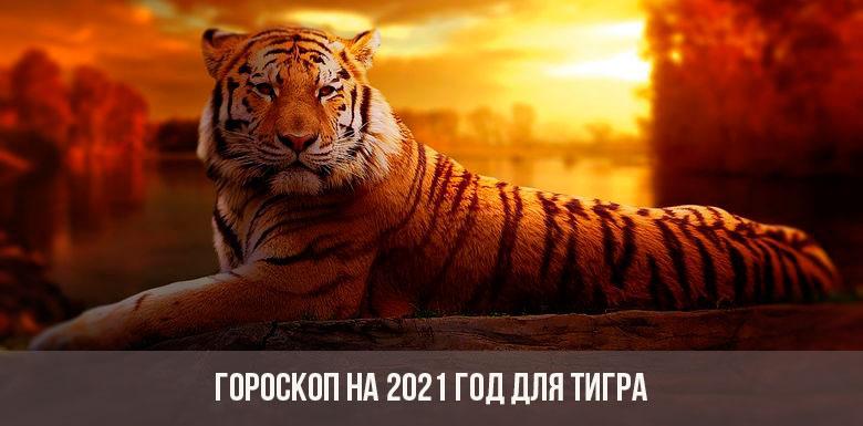 Гороскоп для тигров на 2021 год