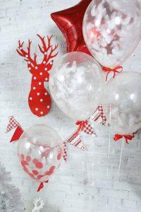 Как украсить дом воздушными шарами на Новый Год 2021