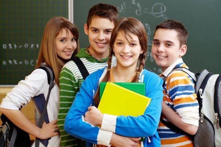 Школьники у доски