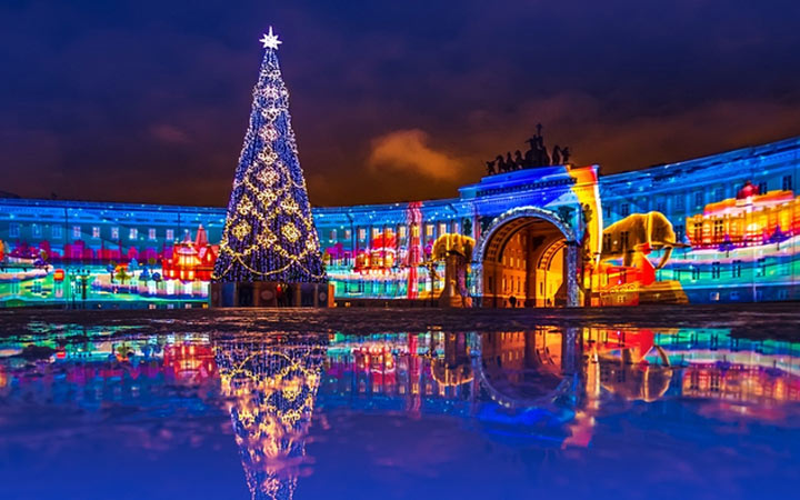 Новый 2021 год в Санкт-Петербурге
