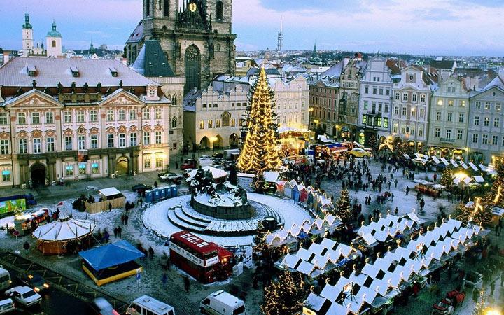Новый Год 2021 в Праге (Чехия)
