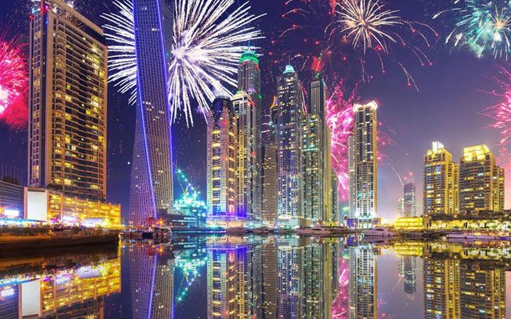 Новый Год 2021 в Дубае