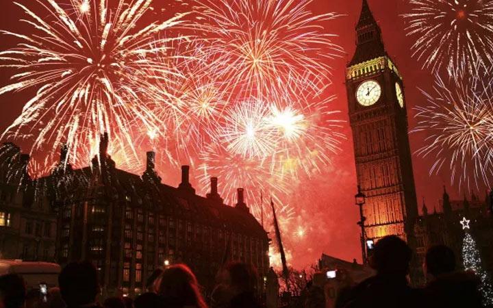 Новый Год 2021 в Лондоне