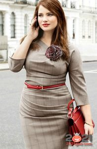 Модные деловые луки для полных женщин на 2020-2021 год