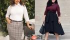 Модные юбки для полных женщин на 2020-2021 год
