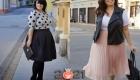 Модные юбки в складку для полных женщин на 2020-2021 год