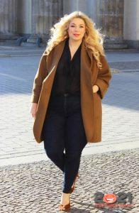 Модное свободное пальто для полных женщин на 2020-2021 год