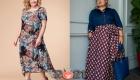 Мода для полных женщин на 2020-2021 год - стильные платья