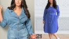 Мода для полных женщин на 2020-2021 год - платье-рубашка