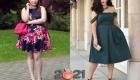 Мода для полных женщин на 2020-2021 год - платье-с пышной юбкой