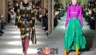 Модные цветные колготки 2021 года