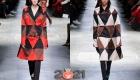 Модные плащи с геометрическим принтом зима 2020-2021