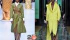 Модные стеганые плащи 2021 года