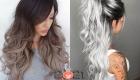 Модные варианты омбре на длинные волосы