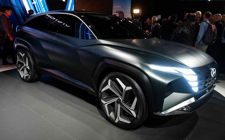 Hyundai Tucson 2020-2021 года