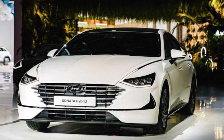 Hyundai Sonata 2020-2021 года