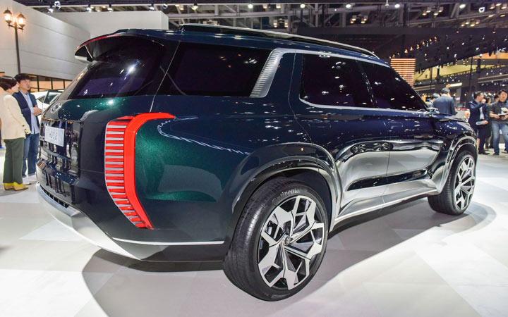 Экстерьер Hyundai Palisade 2020-2021 года