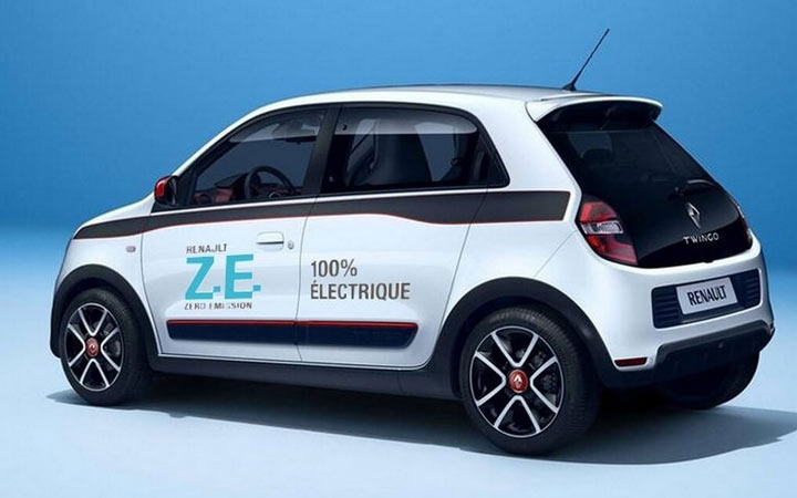 Renault Twingo ZE 2020-2021