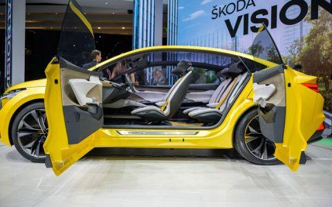 Skoda Vision In 2020-2021