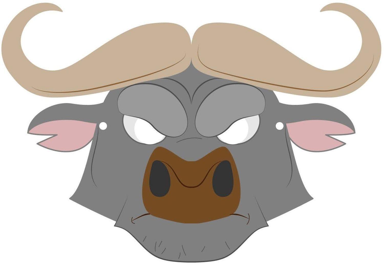 Маска быка