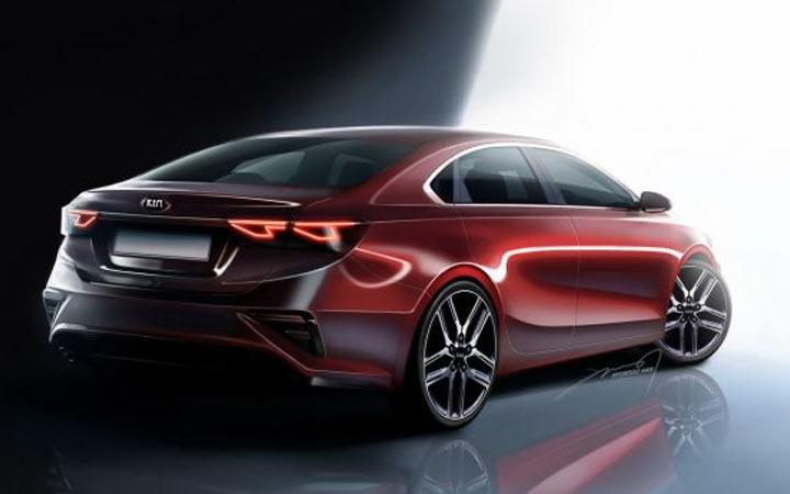Новый Kia Cerato (Forte) 2020-2021 года