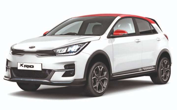 Kia XRio 2020-2021 года