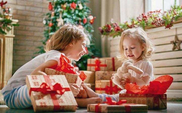 Подарки на Новый Год 2021 для детей до 3 лет
