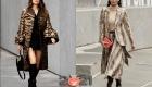 Уличная мода осень-зима 2020-2021 - зоологический принт