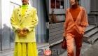 Уличная мода осень-зима 2020-2021 - яркие оттенки