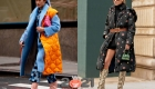 Уличная мода осень-зима 2020-2021 - пуховики