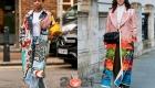 Уличная мода Лондона в сезоне осень-зима 2020-2021 - принтованые пальто