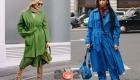 Уличная мода Лондона в сезоне осень-зима 2020-2021 - яркие тотал-луки