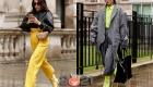 Уличная мода Лондона в сезоне осень-зима 2020-2021 - неоновые оттенки
