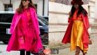 Уличная мода Лондона в сезоне осень-зима 2020-2021 - яркие цвета