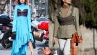Уличная мода Милана  осень-зима 2020-2021- многослойность