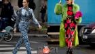 Пестрый тотал - Париж, уличная мода осень-зима 2020-2021