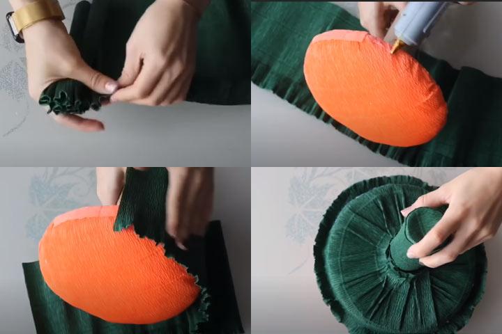 Букет из конфет своими руками (этап 3) - пошаговая инструкция