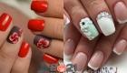 Красивые ногти с объемным декором на 2021 год