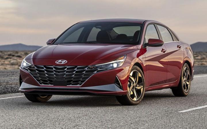 Новый кузов Hyundai Elantra 2021 года