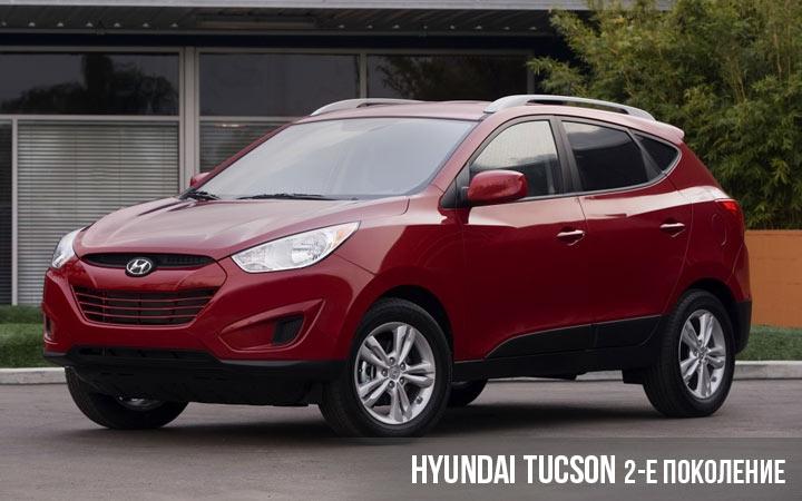 Hyundai Tucson 2 поколение